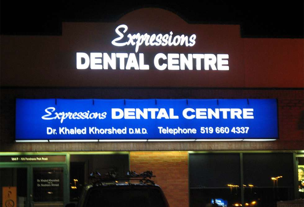 Expressions Dental - Awning